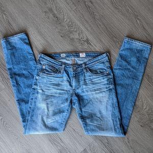AG Adriano Goldschmied Stilt Cigarette Jeans (27R)
